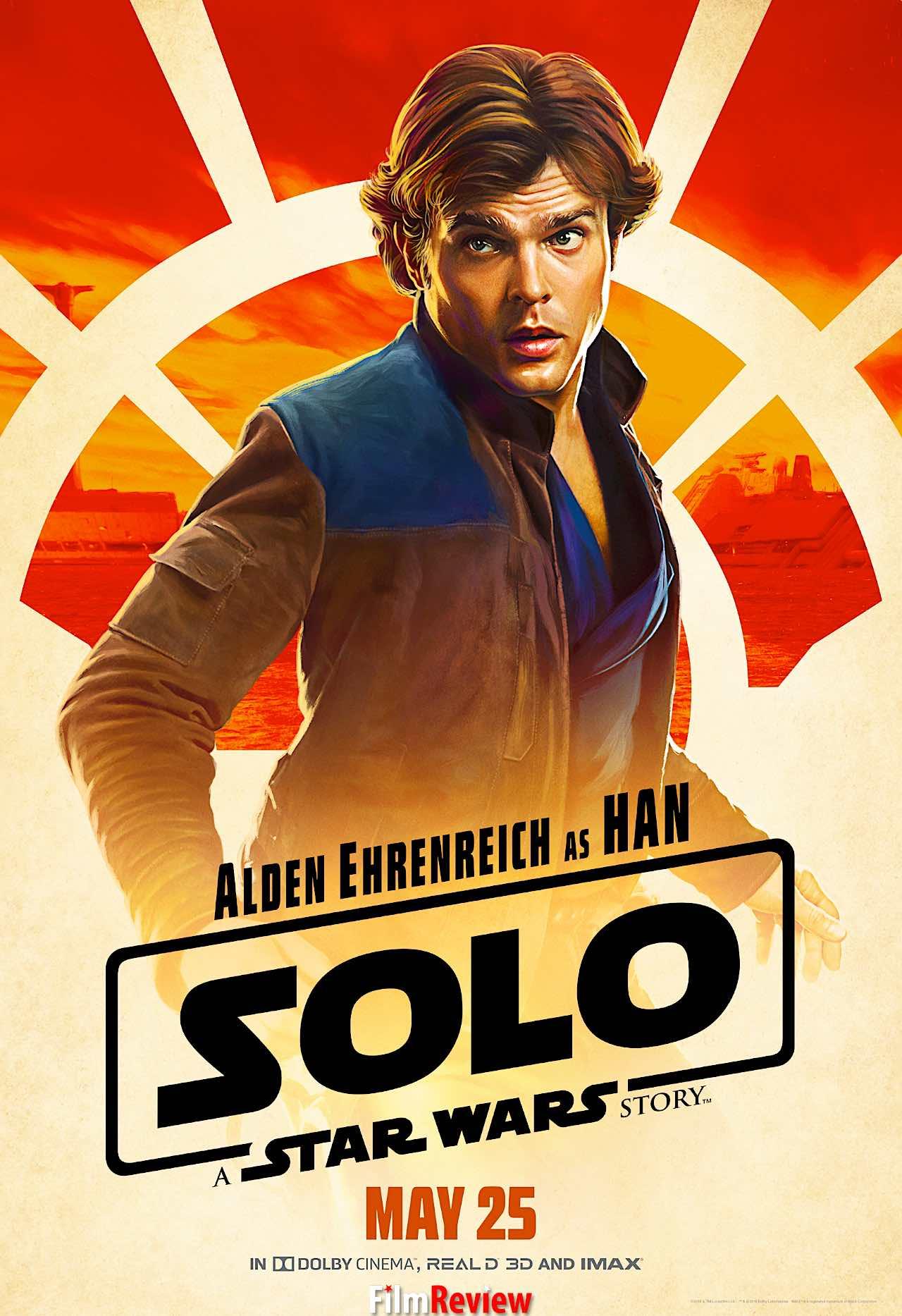 Solo: A Star Wars Story - Poster: Han Solo (Alden Ehrenreich) ©2018 Lucasfilm Ltd